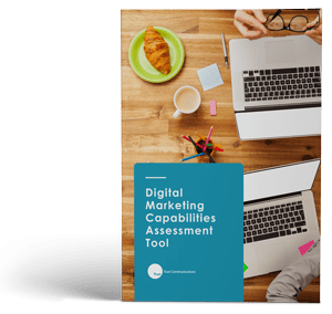 "Cover of ""Digital Marketing Capabilities Assessment Tool"" ebook"