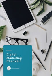 Digital Marketing Checklist ebook