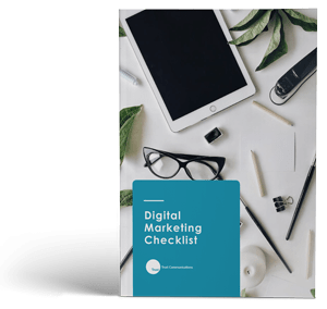 "Cover of ""Digital Marketing Checklist"" ebook"