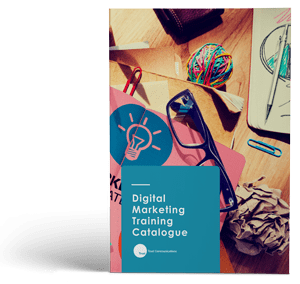 "Cover of ""Digital Marketing Training Catalogue"""
